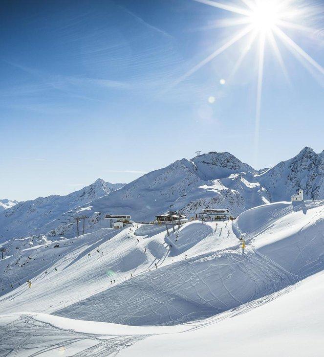 Skigebietsplan <br/> Sölden