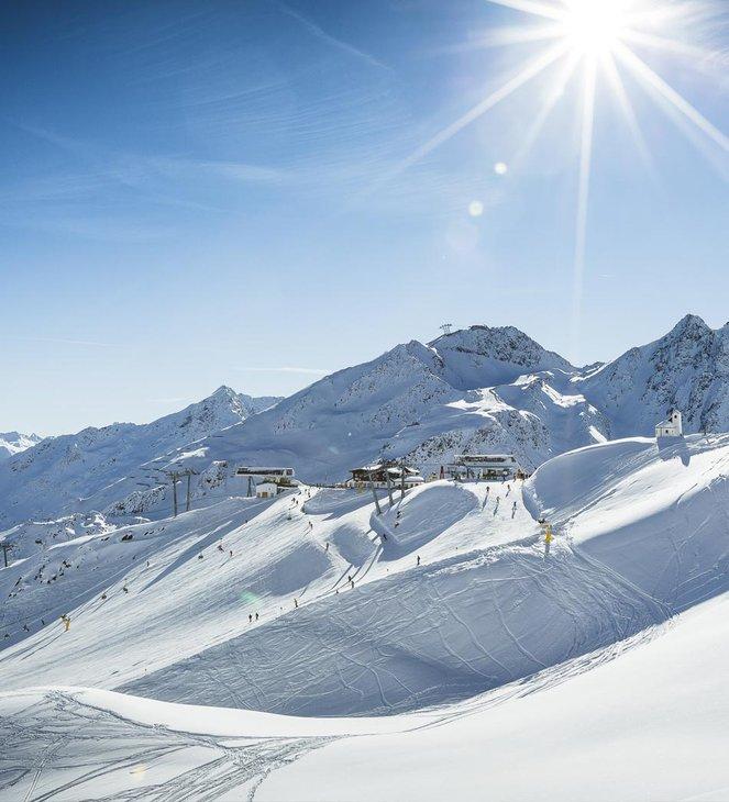 Skigebietsplan <br/> interaktive Skimap